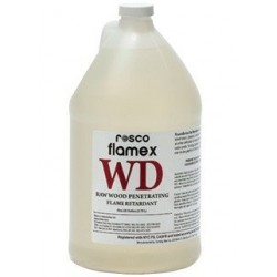 Rosco Flamex WD - for Wood - gallon (3.79L)