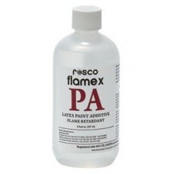 Rosco Flamex PA - Paint Additive - 12 8oz Containers