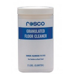 Rosco Granulated Floor Cleanser - 2 lb. Jar