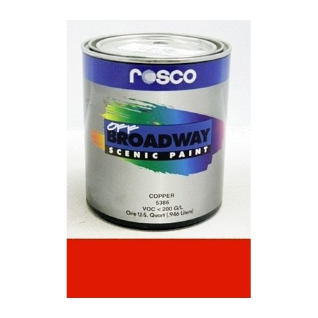 Rosco Off Broadway Fire Red - Gallon