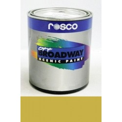Rosco Off Broadway Paint - 5383 - Bright Gold Gallon