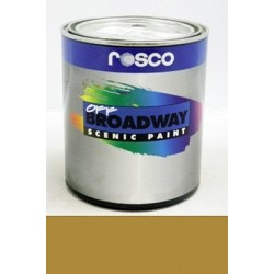 Rosco Off Broadway Paint - 5384 - Gold Pint