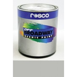 Rosco Off Broadway Paint - 5385 - Silver Quart