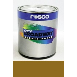 Rosco Off Broadway Paint - 5387 - Antique Gold Pint