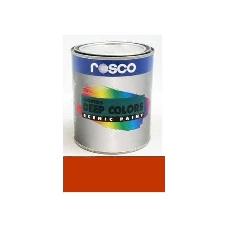 Rosco Iddings Deep Color Paint - 5562 - Bright Red Gallon