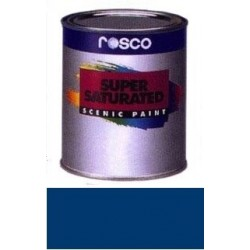 Rosco Supersaturated Paint - 5968 - Green Shade Blue Quart