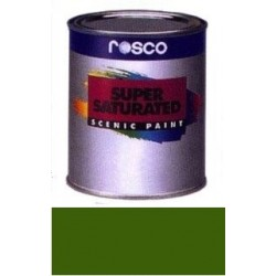 Rosco Supersaturated Paint - 5971 - Chrome Green Quart