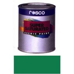 Rosco Supersaturated Paint - 5973 - Pthalo Green Quart