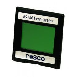 Rosco Permacolor - 2in.x2in. Square Dichroic Glass - 35156 Fern Green