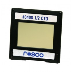 Rosco Permacolor - 2in.x2in. Square Dichroic Glass - 43408 Cinedichro 1/2 CTO