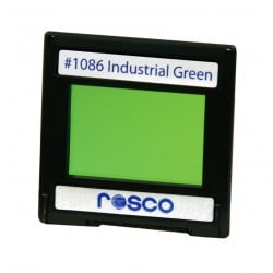 Rosco Permacolor - 2in. Round Dichroic Glass - 31086 Industrial Green