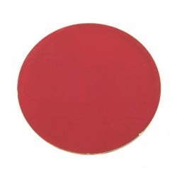 Rosco Permacolor - 5.25in. Round Dichroic Glass - 36100 Flame Red