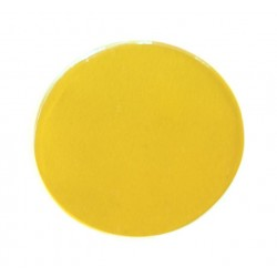 Rosco Permacolor - 5.25in. Round Dichroic Glass - 35401 Amber