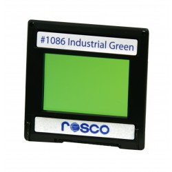 Rosco Permacolor -5.25in Round Dichroic Glass- 31086 Industrial Green