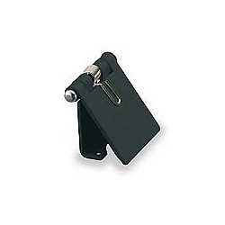 Hubbell Cam-Lok Snap Back Cover - Black