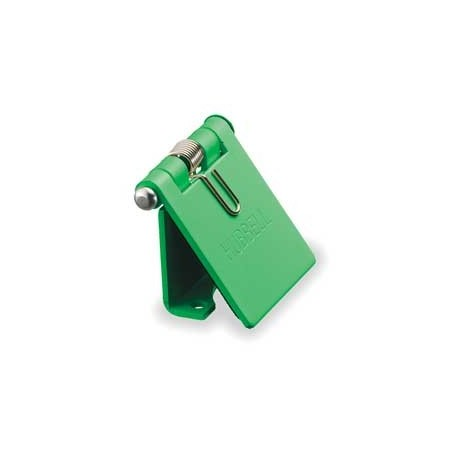 Hubbell Cam-Lok Snap Back Cover - Green