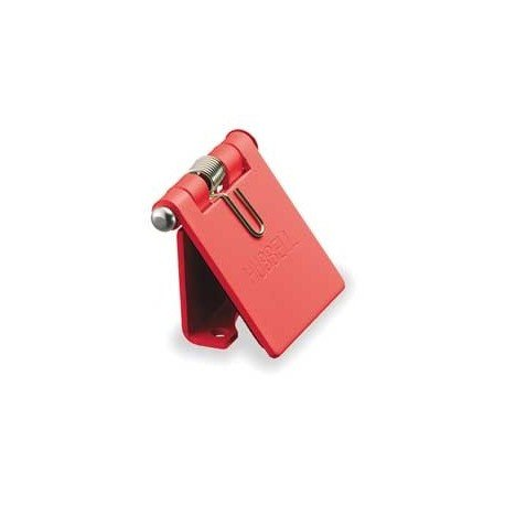 Hubbell Cam-Lok Snap Back Cover - Red