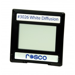 Rosco Permacolor - 6.3in. Round Dichroic Glass - 43026 Cinedichro White Diffusion