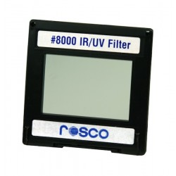 Rosco Permacolor - 6.3in. Round Dichroic Glass - 38000 IR/UV Filter