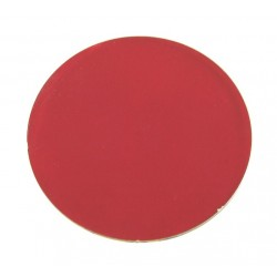 Rosco Permacolor - 8.25in. Round Dichroic Glass - 36100 Flame Red