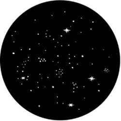 Rosco Steel Gobo - Star Cluster