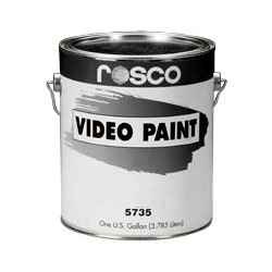 Rosco TV Paint - 5740 - Black Gallon