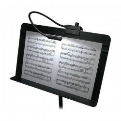 Littlite 12in Gooseneck High Intensity Music Stand Lamp w/Power Supply
