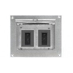 Altman Flush Wall Box - Double Grounded Pin Connectors