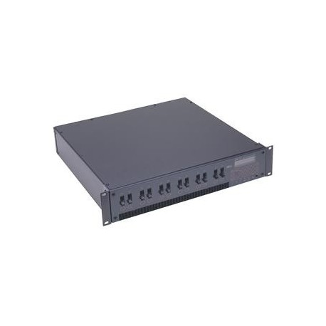 Leviton DS 12 Channel Modular Rack Mount Dimmer/Relay System - 2400W/Channel DMX512 Edison Output