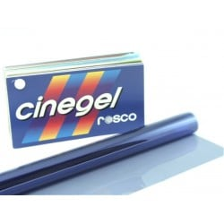 Rosco Cinegel 3208 Quarter Blue - T8 24in. Roscosleeve Gel