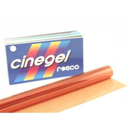 Rosco Cinegel 3442 Half Straw 1/2 CTS - T8 24in. Roscosleeve Gel