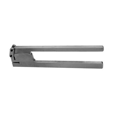 Light Source M140 Curtain Track Punch - Aluminum Finish