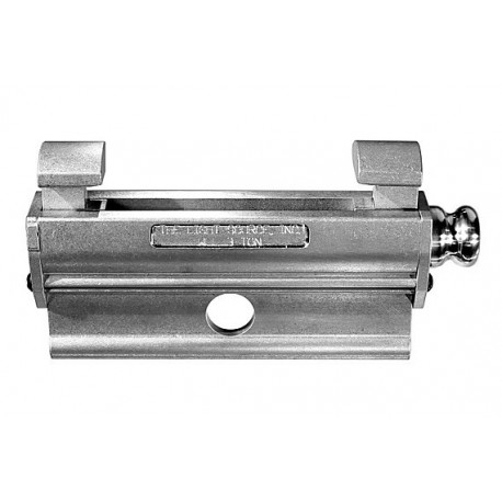 Light Source 8in. Mega Beam Clamp - 3 Ton - Aluminum Finish - Light Source MBC3T-8M