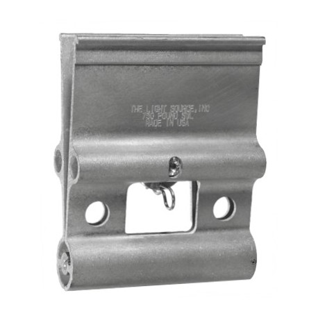 Light Source 7 Inch Mega-Airwall Hanger - Aluminum Finish
