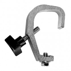 Light Source Mini-Clamp TV (Short Handle) - Aluminum Finish - Light Source MNMTV