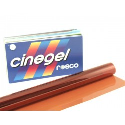 Rosco Cinegel 3407 Roscosun CTO - T12 48in. Roscosleeve Gel