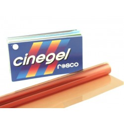 Rosco Cinegel 3408 Roscosun 1/2 CTO - T12 48in. Roscosleeve Gel