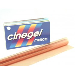 Rosco Cinegel 3409 Roscosun 1/4 CTO - T12 48in. Roscosleeve Gel
