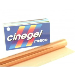 Rosco Cinegel 3443 Quarter Straw 1/4 CTS - T12 48in. Roscosleeve Gel