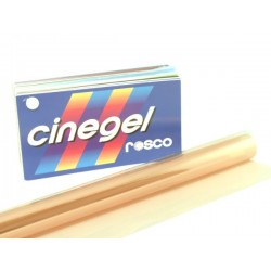 Rosco Cinegel 3444 Eighth Straw 1/8 CTS - T12 48in. Roscosleeve Gel