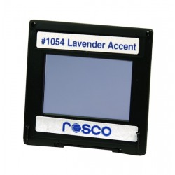Rosco Permacolor - 13.5in Round Dichroic Glass - 31054 Lavender Accent