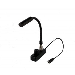 Littlite 6in. Gooseneck Low Intensity Detachable TNC Lamp Set with Mounting Kit and Euro Power Supply