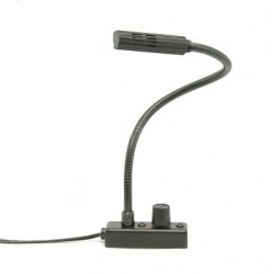 Littlite 12in Gooseneck LED Lamp Set w/Mounting Kit & Euro Power Supply