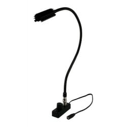 Littlite 18in. Gooseneck High Intensity Detachable BNC Lamp Set with Mount Kit and Euro Supply