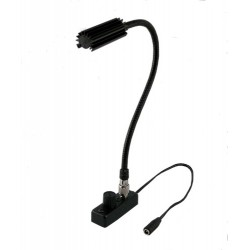 Littlite 12in. Gooseneck High Intensity Lamp Set with Detachable TNC Mounting Kit and Euro Power Supply
