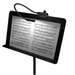 Littlite 18in. Gooseneck High Intensity Music Stand Lamp with Euro Power Supply