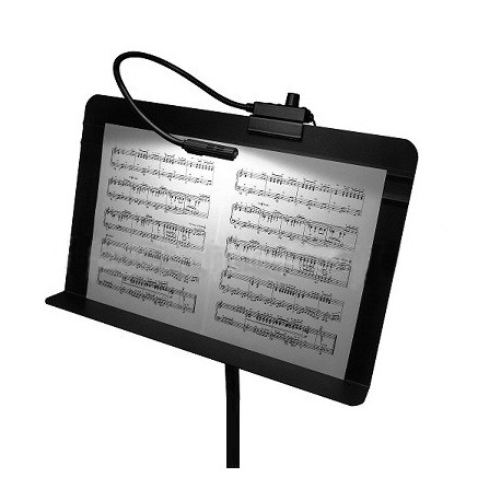 Littlite 12in. Gooseneck High Intensity Music Stand Lamp with Power Supply