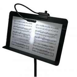 Littlite 18in. Gooseneck LED Music Stand Lamp with Euro Power Supply