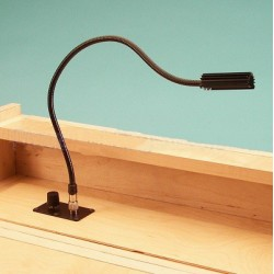 Littlite 18in. Detachable Gooseneck Flush Mount with Euro Power Supply