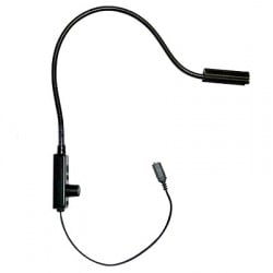 Littlite 18in. Gooseneck High Intensity with Permanent End-Mount Mounting Kit and NO Power Supply